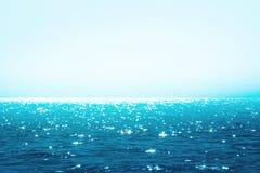 голубое море светя Стоковые Изображения
