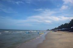 голубое море Стоковая Фотография