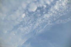 Голубое небо в пасмурном Стоковое Изображение RF