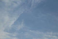 Голубое небо в пасмурном Стоковая Фотография RF