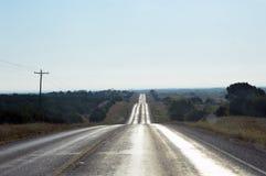 Голубое небо и автомобиль Стоковые Изображения RF