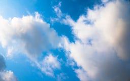 Голубое небо и clound Стоковое фото RF