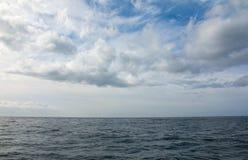 голубое небо моря Стоковая Фотография RF