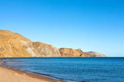 голубое небо моря Стоковое Фото