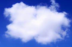 голубое небо облака крупного плана Небо крупного плана голубое и пушистые облака Стоковые Изображения RF
