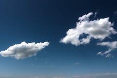 голубое небо облака Стоковые Фотографии RF