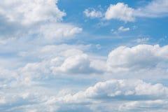 голубое небо облака Стоковое Изображение RF