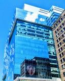 голубое небо отражения Стоковые Изображения