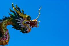 голубое небо дракона Стоковое фото RF