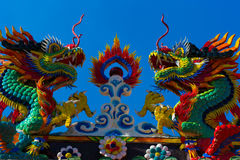 голубое небо дракона Стоковые Изображения RF