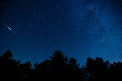 Голубое небо Риджа Стоковые Фото