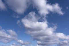 Голубое небо с облаками 14 Стоковое Фото