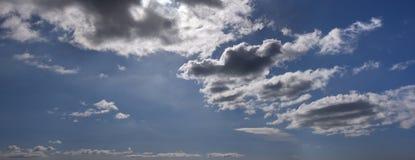 Голубое небо с облаками 14 Стоковая Фотография