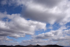 Голубое небо с облаками 14 Стоковые Фото