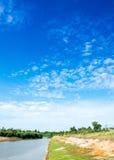 голубое небо Стоковое Изображение RF