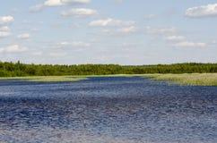 Голубое озеро Стоковые Изображения