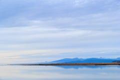голубое отражение Стоковое Фото