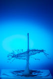 голубое падение Стоковые Изображения