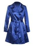 голубое пальто Стоковые Изображения