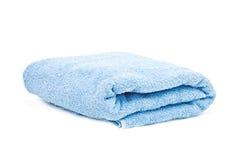 голубое полотенце Стоковое фото RF