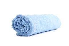 голубое полотенце Стоковые Фото