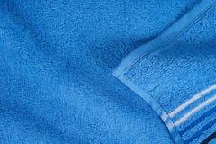 голубое полотенце terry Стоковая Фотография