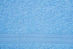 голубое полотенце terry Стоковое фото RF