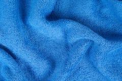 голубое полотенце terry Стоковые Фото