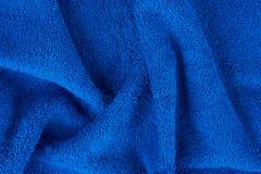 голубое полотенце terry Стоковое Изображение RF