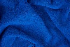 голубое полотенце terry Стоковые Изображения RF