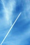 голубое плоское небо Стоковое Изображение RF