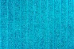 Голубое пляжный полотенце Стоковые Фотографии RF