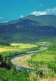 голубое река Стоковые Изображения RF