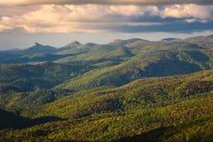 Голубое Ридж панорамное Стоковые Изображения RF