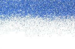 голубое рождество граници Текстура и цвет Naturel foiled Стоковые Фото