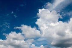 Голубое русское небо Стоковая Фотография RF