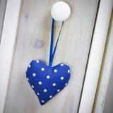 голубое сердце Стоковая Фотография RF