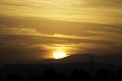 Голубое утро Стоковое Изображение RF