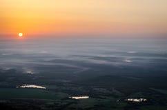 Голубое утро Стоковая Фотография RF