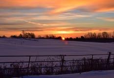 Голубое утро Стоковые Изображения