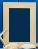 голубое фото рамки Стоковое Изображение