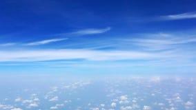 голубое чистое небо Стоковое Изображение RF