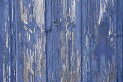 голубое шелушение краски Стоковые Изображения RF