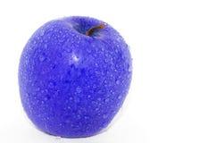Голубое яблоко Стоковое Фото