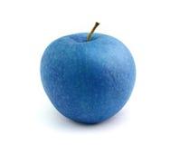 Голубое яблоко Стоковые Фото