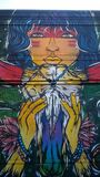 Голубое Angelique Стоковая Фотография RF