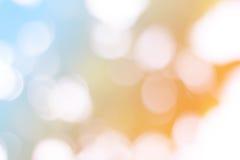 голубое bokeh Стоковая Фотография RF