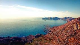 Голубое horizont Стоковое Изображение