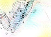 Голубое mosaic04withe Стоковое Фото