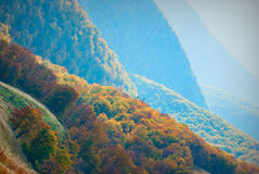 Голубое mountains_2 Стоковая Фотография